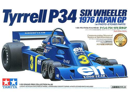 Tyrrell P34 6 Wheeler 1976 Japan + Extras