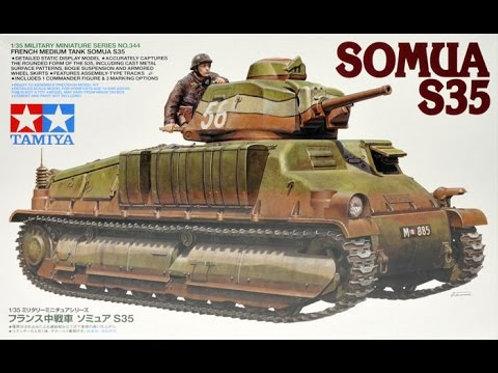 French Medium Tank SOMUA S35
