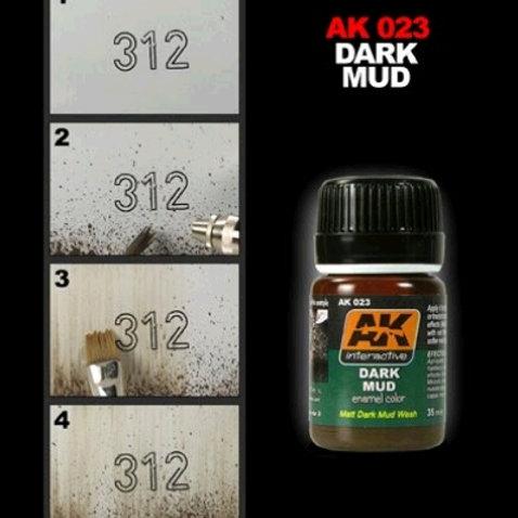 AK Wash - Dark Mud - AK023