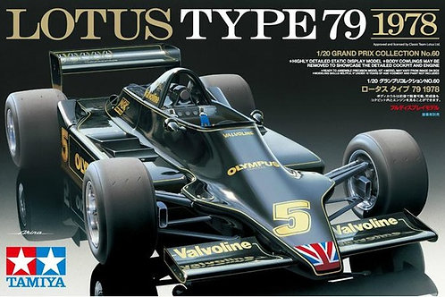 Lotus F1 Type 79  + Extras