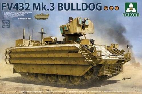 FV432 Mk.3 Bulldog British APC (2in1)