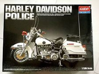 Harley Davidson Police Motorbike