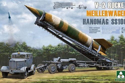 V-2 Rocket Meillerwagen Hanomag SS100