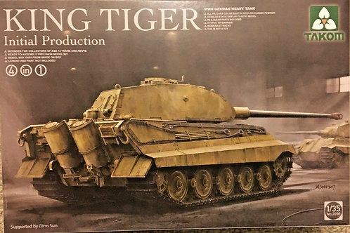 King Tiger Initial Production