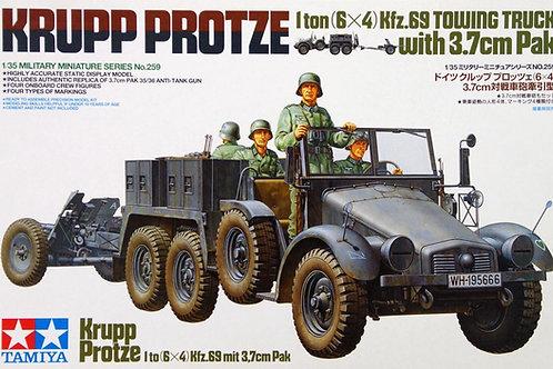 Krupp Protze Towing Truck