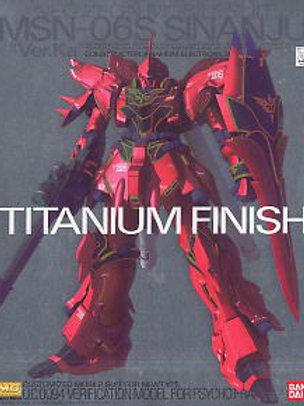 MSN-06S Sinanju Ver Ka Titanium Finish Ver. Ka + Extras