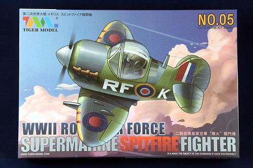 WWII RAF Supermarine Spitfire (Cute Plane)