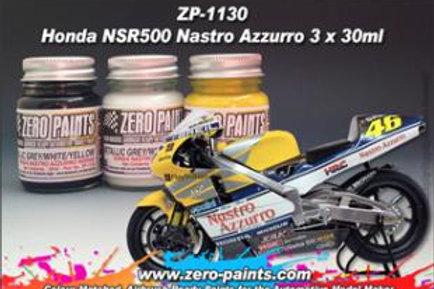 Zero Paints - Nastro Azzurro NSR500 Metallic Grey + White + Yellow
