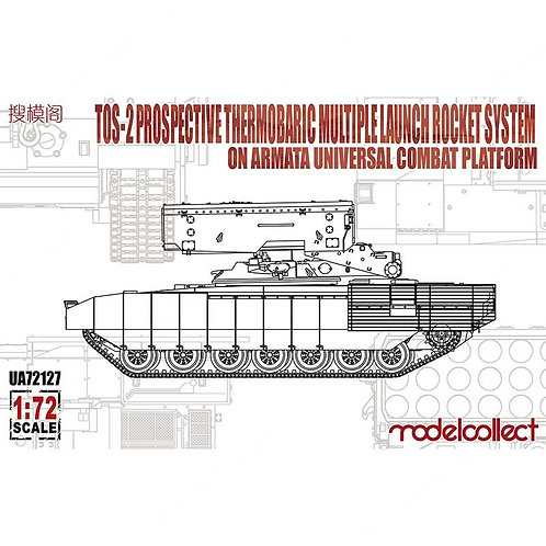 TOA-2 Prospective Thermobaric Multiple Launch Rocket System on Armata Universal