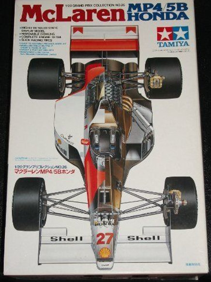 McLaren F1 MP4/5B Honda + Extras