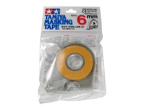 Tamiya Masking Tape w Dispenser - 6mm