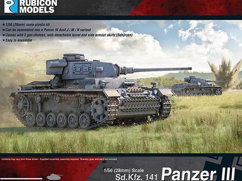 Panzer III Mid War