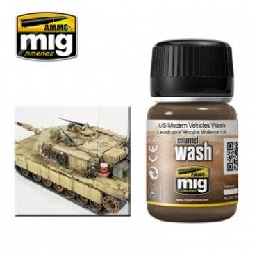 Ammo Wash - US Modern Vehicles Wash - A.Mig-1007