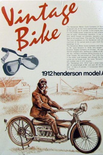Henderson Model A 1912 Vintage Bike