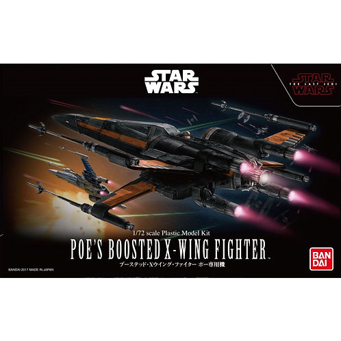 Poe's Boosted  X-Wing Fighter (The Last Jedi)