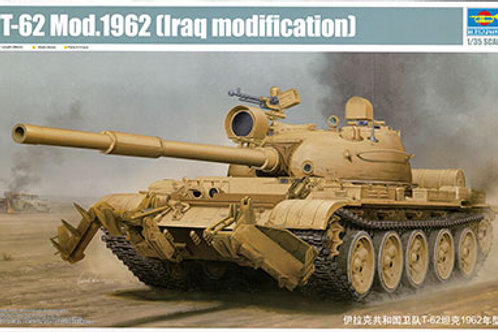 T-62 Mod 162 Iraq Modification