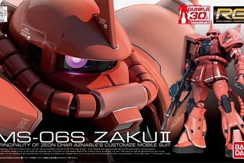 MS-06S Zaku II (RG02) + Extras