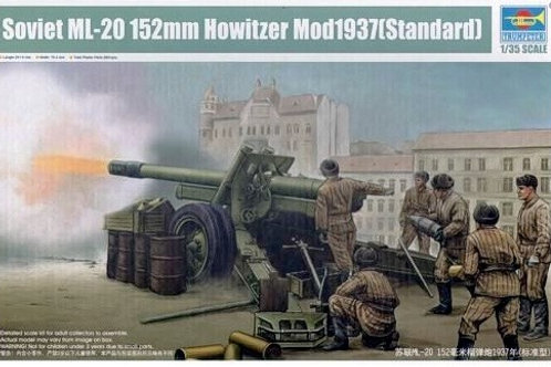 Soviet ML-20 Howitzer Mod1937 Standard