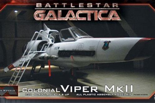 Battlestar Galactica Colonial Viper Mk II + Extras