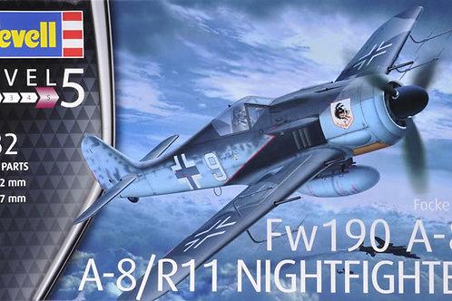Focke-Wulf Fw190 a-8/a-8 nightfighter