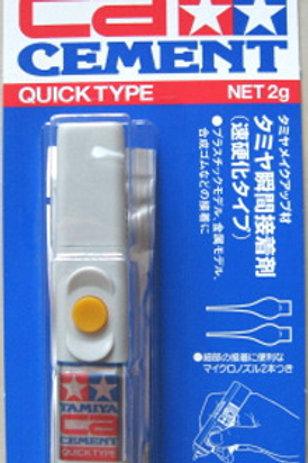 Tamiya CA Cement Quick Type