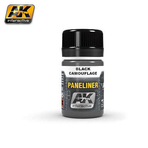 AK Paneliner - Black Camouflage