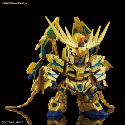 Unicorn Gundam 03 Phenex Destroy Mode Narrative Ver - SD Gundam Cross Silhouette