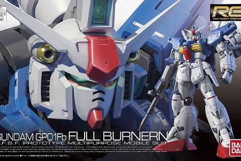 Gundam GP01Fb Full Burnern (RG13) + Extras