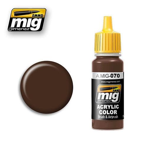 Ammo Acrylic Color Medium Brown