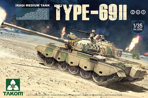 Iraqi Medium Tank Type-69 II (2 in 1)