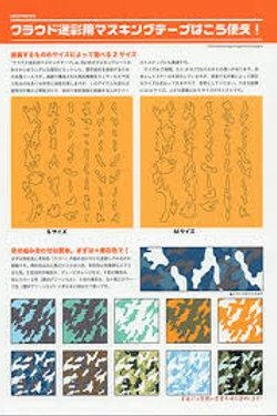 Camouflage Masking Sheets - Medium