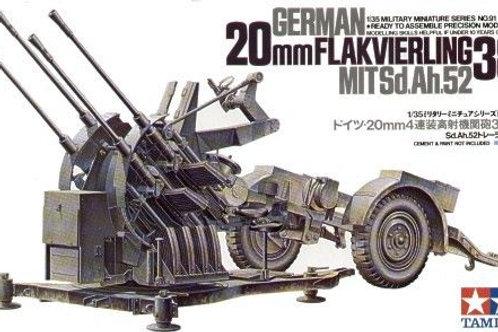 German 20mm Flak 38 Anti Aircraft Gun