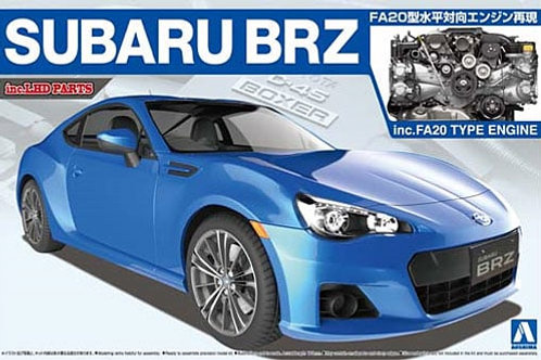 Subaru BRZ w FA20 Engine