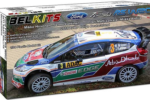 Ford Fiesta RS WRC 2011 Rally Deutschland + Extras