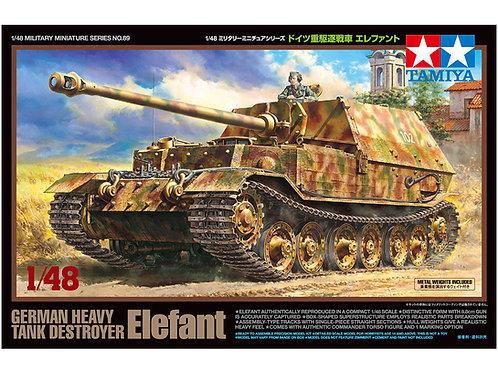 German Tank Destroyer Elefant + Zimmerit