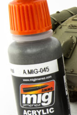 Ammo Acrylic Color Gun Metal
