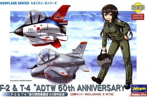 "F-2 & T-4 ""ADTW 60th Anniversary"" Eggplane"