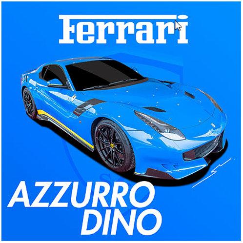 Splash Paints - Ferrari Azzurro Dino