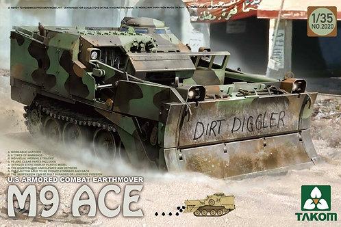 M9 ACE US Armoured Combat Earthmover + Extras