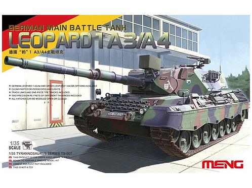 Leopard 1 A3/A4 German Main Battle Tank + Extras