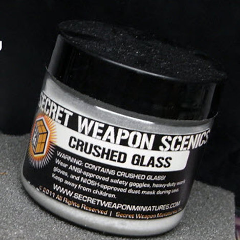 Crushed Glass for Snow Effects