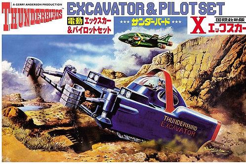 Thunderbirds Excavator & Pilot Set