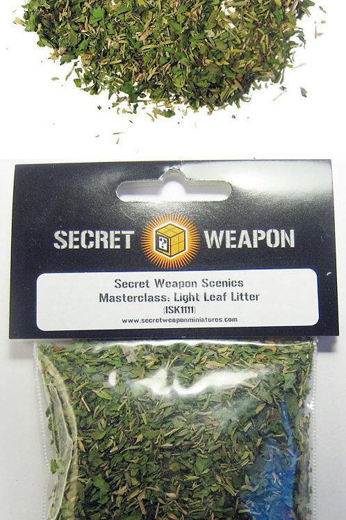 Light Green Leaf Litter