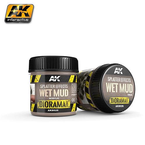 Splatter Effects - Wet Mud