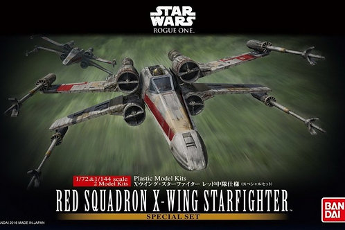 Red Squadron X-Wing Starfighters