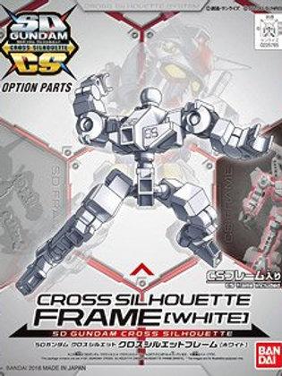 SD Gundam Cross Silhouette Frame -White