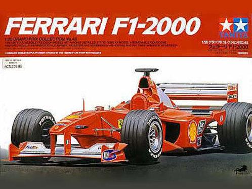 Ferrari F1-2000 Clear View + Extras