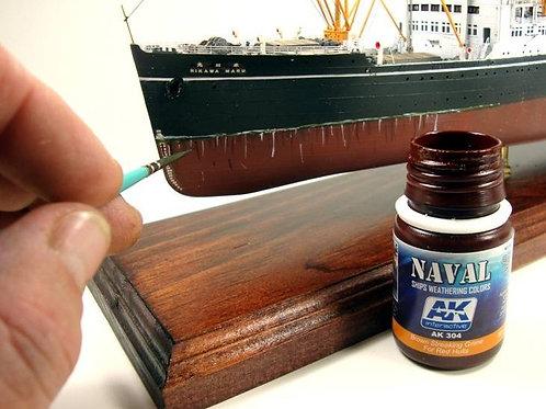 AK Wash - Brown Streaking Grime for Red Hulls (Naval)