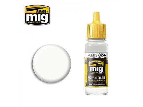 Ammo Acrylic Color Washable White Camo
