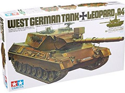 West German Tank Leopard A4